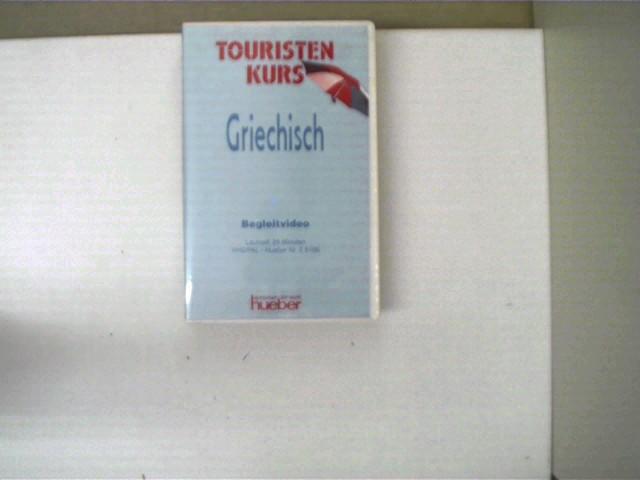 Touristenkurs Griechisch - Begleitheft; VHS guter Zustand, Hülle mit etwas Gebrauchsspuren,