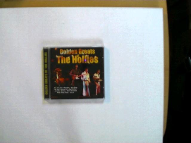 Golden Greats of The Hollies; CD guter Zustand, Hülle mit etwas Gebrauchsspuren,