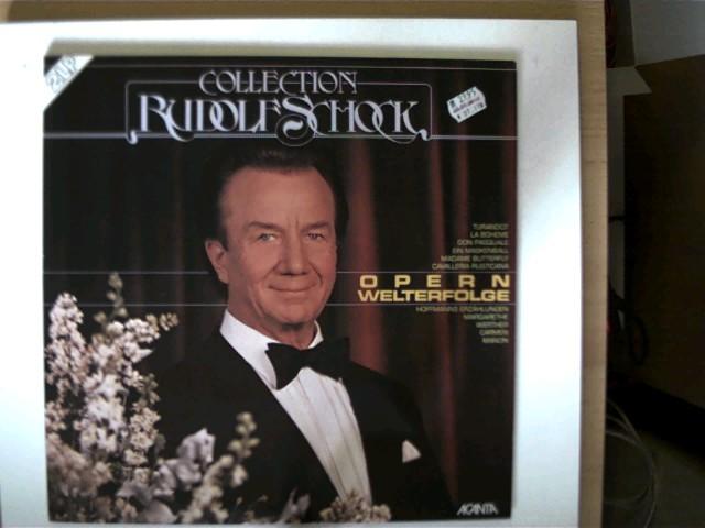 Schock, Rudolf: Opern-Welterfolge - Collection Rudolf Schock, Platten sehr guter Zustand,
