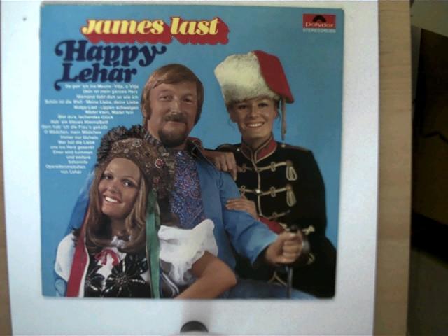 Last, James: James Last - Happy Lehar, Hülle mit minimalen Gebrauchsspuren, Platte mit wenigen Gebrauchsspuren u, wenigen Kratzern, ansonsten guter Zustand,