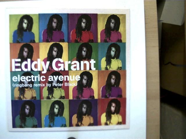 Eddy Grant: Electric Avenue,  SELTEN!, Platte wenig fleckig u. mit geringen Gebrauchsspuren, ansonsten guter Zustand, - Grant, Eddy
