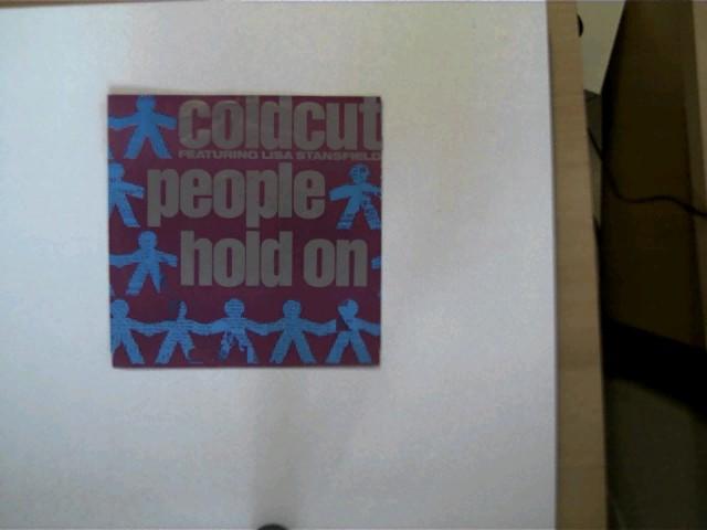 Coldcut und Lisa Stansfield: Coldcut featuring Lisa Stansfield: People hold on/ Yes yes yes, Hülle mit wenigen leichten Gebrauchsspuren, Platte sehr guter Zustand,