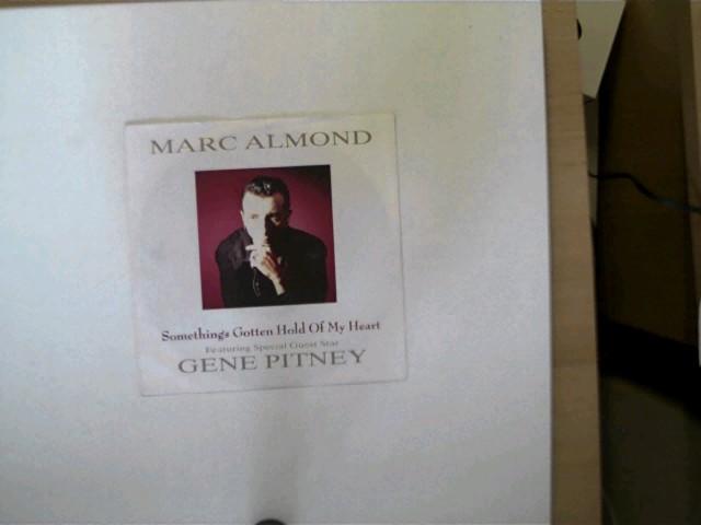 Marc Almond: Something´s gotten hold of my Heart, Featuring Special Guest Star Gene Pitney, Hülle mit wenigen leichten Gebrauchsspuren, Platte mit geringen Gebrauchsspuren, ansonsten guter Zustand,