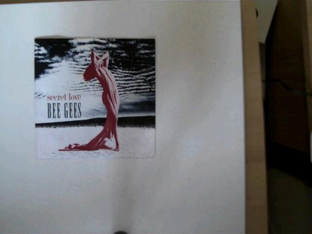 Bee Gees: Secret love/ True confessions, Hülle mit wenigen leichten Gebrauchsspuren, Platte mit wenigen Gebrauchsspuren, ansonsten guter Zustand,