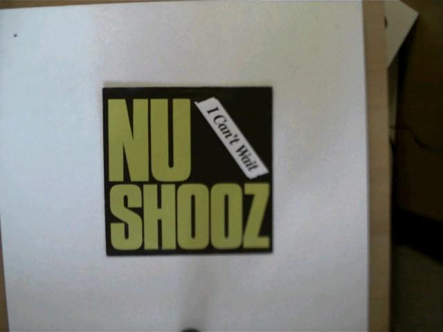 Nu Shooz: Nu Shooz: I can´t wait/ Make your mind up, Platte mit geringen Gebrauchsspuren, ansonsten guter Zustand,