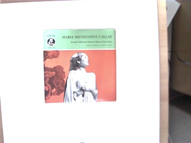 """Maria Meneghini Callas: Keusche Göttin im silbernen Glanze (Casta Diva), Cavatine der Norma aus """"Norma"""" - Bellini, Hülle am Rand mit Klebestreifen, Platte mit einigen leichten Kratzern, ansonsten guter Zustand,"""