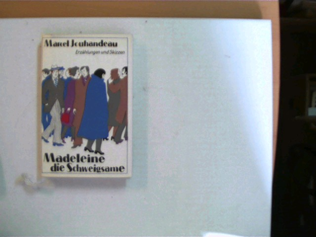 Madeleine die Schweigsame, Erzählungen und Skizzen, 1. Auflage, Namenszug auf der Innenseite des Schutzumschlages, ansonsten gutes Exemplar,