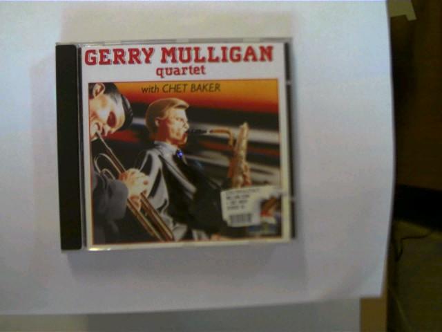 Gerry Mulligan Quartet with Chet Baker, CD mit leichten Kratzern, Hülle mit wenigen leichten Kratzern u. vorne mit einem Aufkleberrest, ansonsten guter Zustand,
