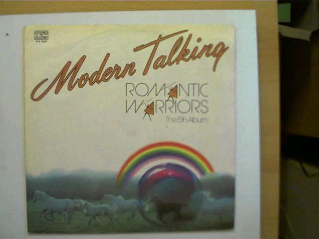 Modern Talking - Romantic Warriors, The 5th Album, Hülle mit leichten Gebrauchsspuren u. teils offen, ansonsten guter Zustand,
