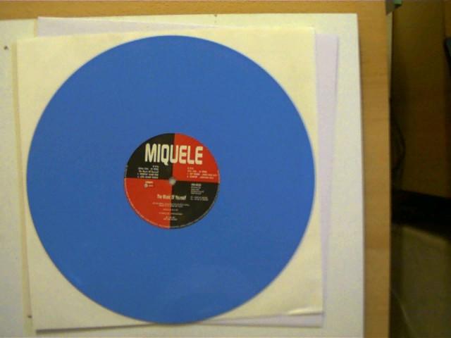 Miquele: Miquele - The Music of Yourself (Hülle NEU! nicht Original!), SELTEN!, Platte mit vielen leichten Kratzern, ansonsten guter Zustand,