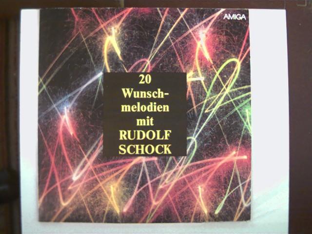 20 Wunschmelodien mit Rudolf Schock SELTEN!, Platte mit nur sehr wenigen leichten Kratzern, Hülle mit altersentsprechend etwas Gebrauchsspuren,