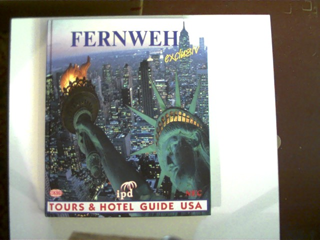 Fernweh exclusiv; Tours & Hotel Guide USA; 1. Auflage, Deckel mit geringen Gebrauchsspuren, Ecken/Kanten leicht angestoßen, ansonsten gutes Exemplar,