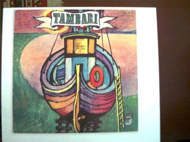 Tambari; Hülle altersentsprechend an den Kanten abgenutzt, Schallplatte mit geringen Gebrauchsspuren und einigen leichten Kratzern,