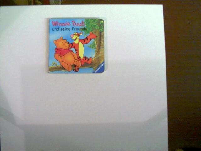 Winnie Puuh und seine Freunde; SELTEN!, Buchdeckel mit einigen Gebrauchsspuren, Ecken/Kanten etwas abgenutzt, ansonsten gutes Exemplar,