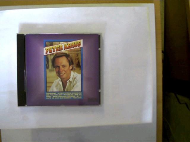 Peter Kraus, Hülle mit leichten Gebrauchsspuren, CD mit einem kleinem Kratzer, ansonsten guter Zustand,