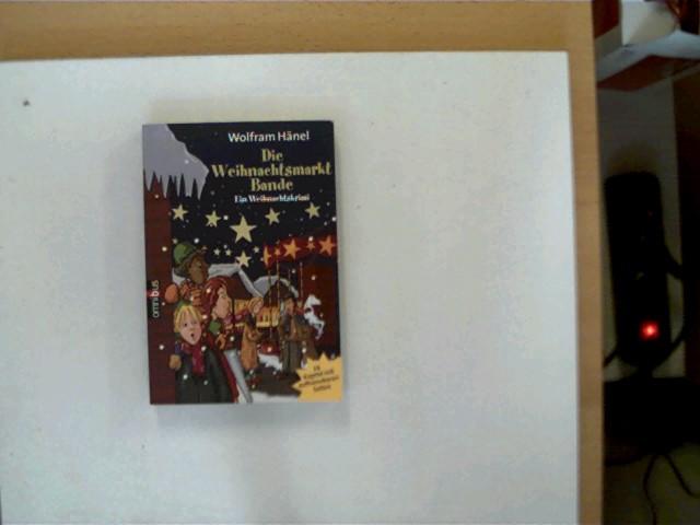 Die Weihnachtsmarkt-Bande, Ein Weihnachtskrimi, 1.Auflage, Buchdeckel hinten mit einigen Gebrauchsspuren, ansonsten gutes Exemplar,