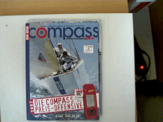 Der neue Compass Frühjahr/ Sommer 2007, Europas größtes Versandhaus für Motorboot & Segelsport, gutes Exemplar,