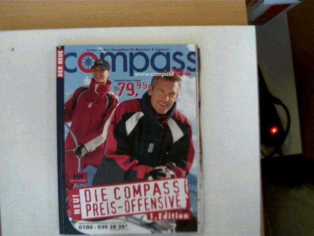 Der neue Compass Frühjahr/ Sommer 2006, Europas größtes Versandhaus für Motorboot & Segelsport, gutes Exemplar,