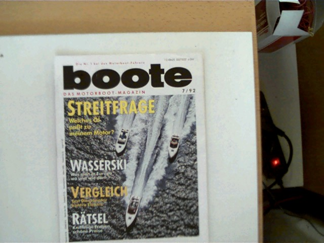 Boote - Das Bootsmagazin - 7/ 92, Die Nr. 1 bei den Motorboot-Fahren, , ansonsten gutes Exemplar,