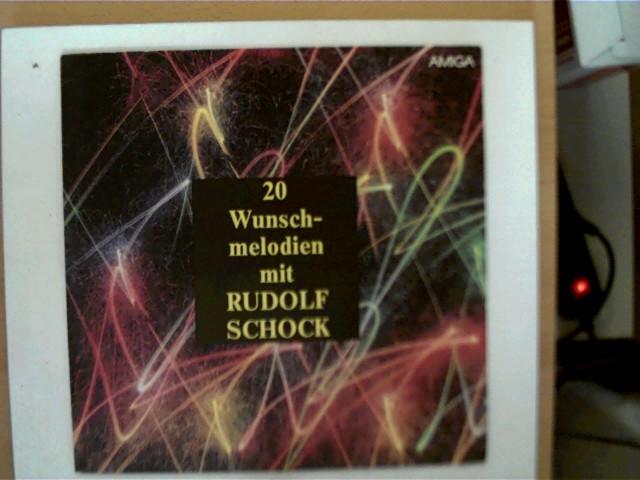 20 Wunschmelodien mit Rudolf Schock, Platte mit wenigen Kratzern, ansonsten guter Zustand,