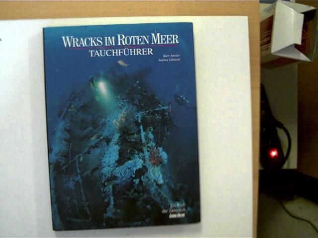 Wracks im Roten Meer - Tauchführer, erste Seite mit einer Widmung, ansonsten sehr gutes Exemplar,