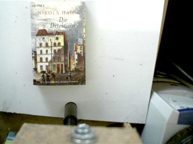 Die Detektivin, Ein historischer Kriminalroman, gutes Exemplar,