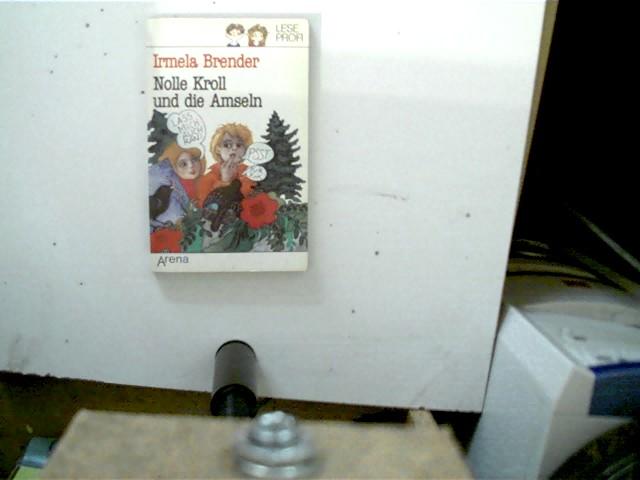 Nolle Kroll und die Amseln, 1. Auflage, Buchdeckel mit leichten Gebrauchsspuren, ansonsten gutes Exemplar,