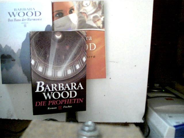 1. Die Prophetin (Fischer Bd. 13751), 2. Herzflimmern (Fischer Bd. 50611), 3. Das Haus der Harmonie (Fischer Bd. 14783), , Konvolut Bücherpaket, 1x 5. Auflage, Paperback,