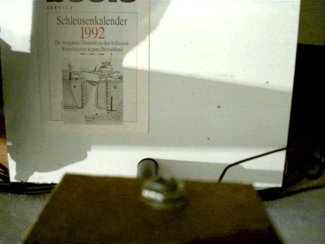 Schleusenkalender 1992, Die komplette Übersicht zu den Schleusen-Betriebszeiten in ganz Deutschland, Selten!, weiße Broschur,
