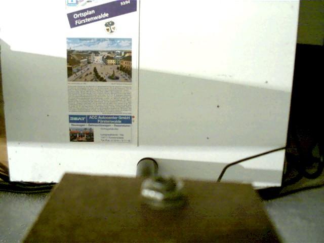 Ortsplan Fürstenwalde 1993/94, Selten!, weißes Faltblatt,