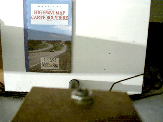 Official Highway Map Carte Routiere, 1992/93, blaues Faltblatt,