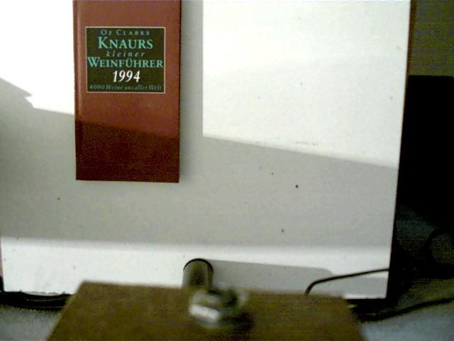 Knaurs kleiner Weinführer 1994. 4000 Weine aus aller Welt  brauner Paperback, - Clarke, Oz