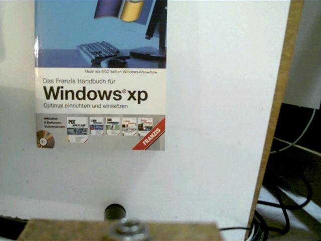 Das Franzis-Handbuch für Windows XP, Franzis-Handbuch blau-weißer Paperback,