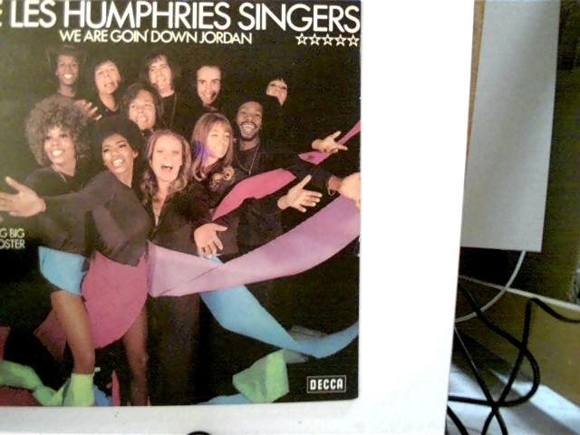 The Les Humphries Singers - We Are Goin Down Jordan, Original Schutzhülle!!, Hülle am Rand mit leichten Gebrauchsspuren, Platte sehr guter Zustand, ansonsten guter Zustand, ohne Poster,