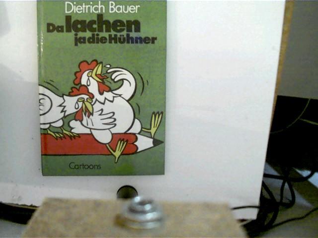 Da lachen ja die Hühner Cartoons, grüner Hardcover,