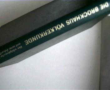 Bild der Völker - Die Brockhaus Völkerkunde in zehn Bänden Band 10: Der schöpferische Mensch, Die Zukunft der Menschheit, Register