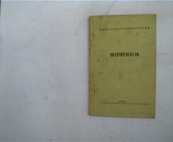 Mathematik, Hochschulfernstudium, wohl 1. Auflage, Paperback,