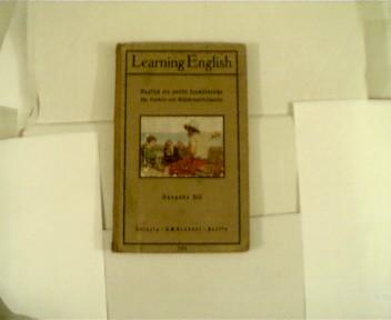 Autorenkollektiv: Learning English, Englisch als zweite Fremdsprache für Knaben- und Mädchenmittelschulen, Ausgabe B II, Teil 2 für Klasse II - I, Halbleinwand,