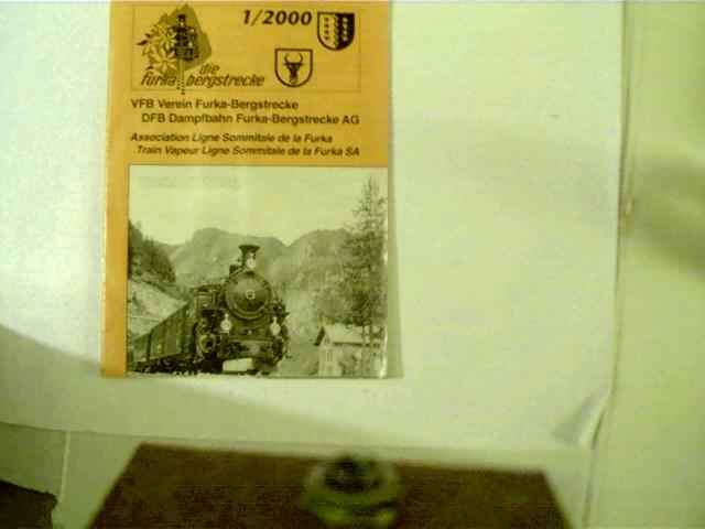 Dampfbahn Furka - Bergstrecke AG, Heft-Nr. 1 / 2000, 9,2 Tsd.,