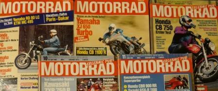 Motorrad - Nr. 17 - 19. August 1981, Die große Motorrad-Zeitschrift,
