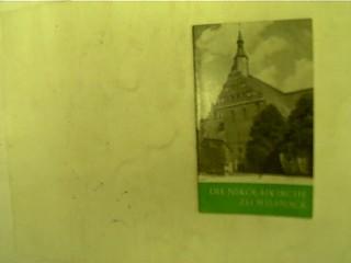 Die Nikolaikirche zu Wilsnack, 2. Auflage,