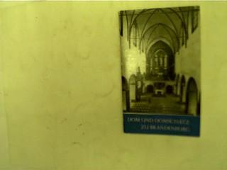 Dom und Domschatz zu Brandenburg, 1. Auflage,