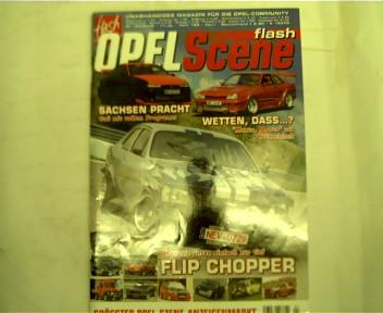 flash Opel Scene - Nr. 04/2008, Heft 182, Internationales Magazin für alle Opel Fans,
