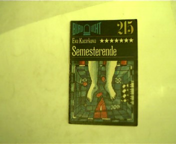 Semesterende, Band 215, 1. Auflage,