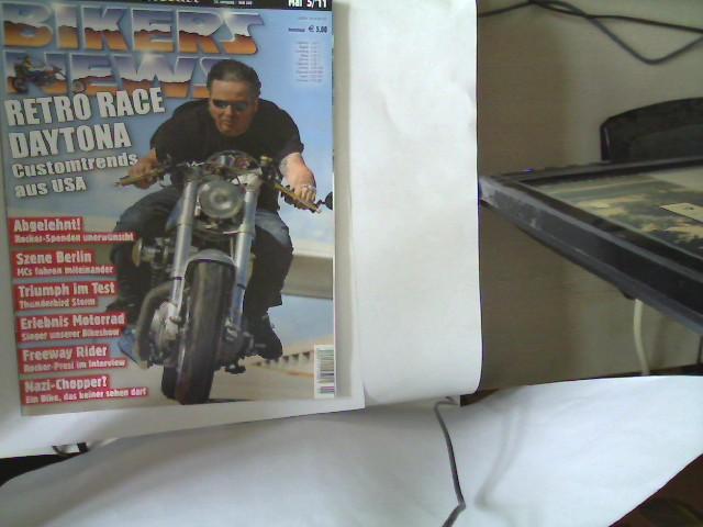 Bikers News - Heft 349 - Mai 5 / 2011, 32. Jahrgang,