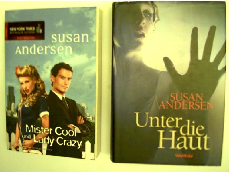 Sammlung / Bücherpaket / Konvolut Bücher, 2 Bücher von Susan Andersen, 1. Mister Cool und Lady Crazy, 2. Unter die Haut,