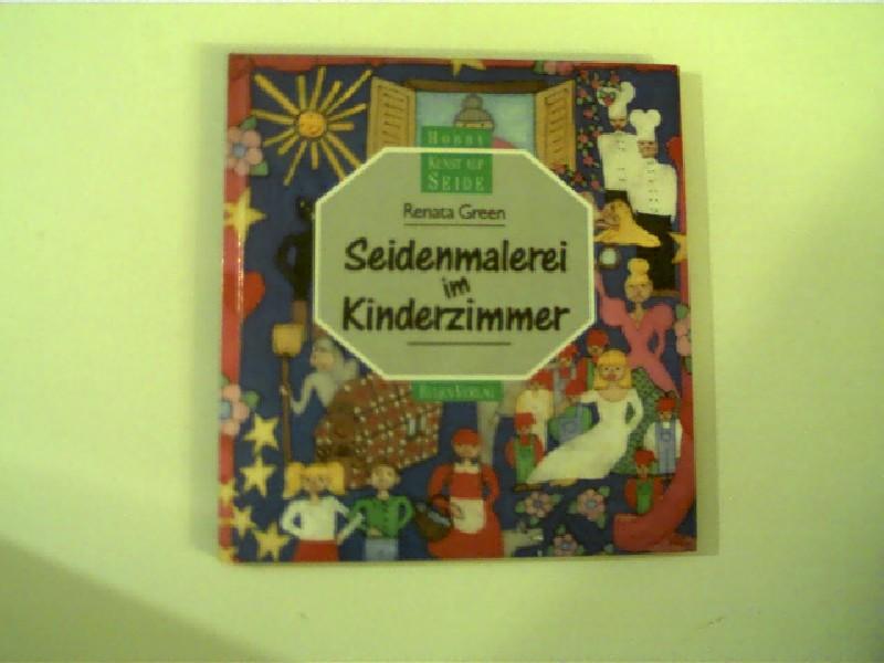 Seidenmalerei im Kinderzimmer, Hobby Kunst auf Seide,