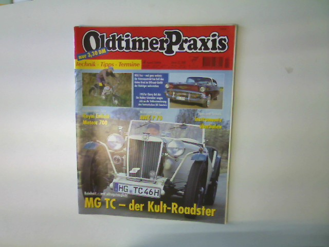 Oldtimer Praxis, Ausgabe 4 April 2000 --- Technik / Tipps / Termine, 1. Auflage,