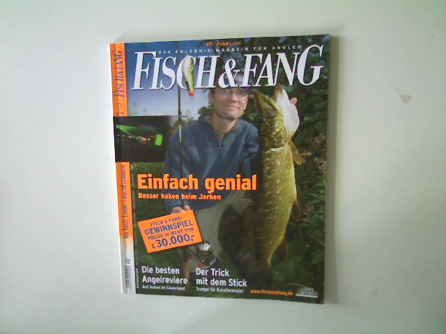Autorenkollektiv: Fisch & Fang- Das Erlebnis- Magazin für Angler Ausgabe 9 September 2008,