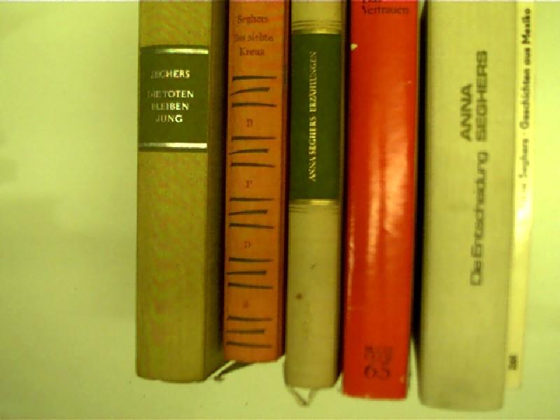 6x Bücher von Anna Seghers: 1. Die Toten bleiben jung + 2. Das siebte Kreuz + 3. Erzählungen ...